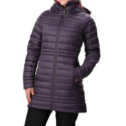 Burton [ak] Long Baker Down Jacket - 800 Fill Power (For Women) in Purple Label - Closeouts